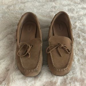 Light Brown Lands' End Boat Shoes / Loafers